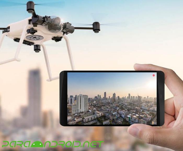 Ventajas de poder manejar un dron con el teléfono móvil